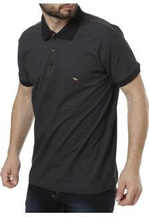 Camisa Polo Dixie Manga Curta Masculina - Masculino