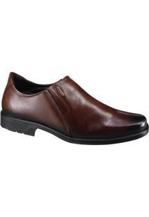 Sapato Social Pegada - Masculino-Marrom