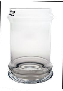 Vaso Bianco E Nero Transparente