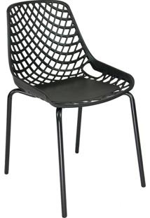 Cadeira De Cozinha Beau Design Preta