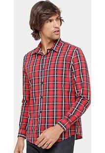 Camisa Xadrez Ellus 2Nd Floor Regular Fit Masculina - Masculino