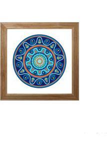 Quadro Decorativo Lucky I 23X23Cm Rústico Infinity