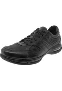 Sapato Masculino Air Full Ii Preto Democrata - 114103