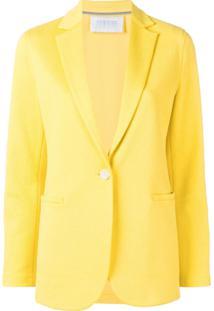 Harris Wharf London Blazer Estruturado - Amarelo