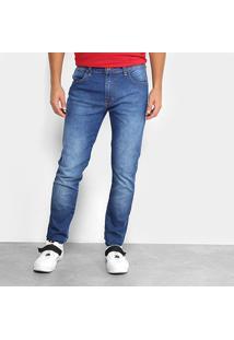 Calça Jeans Skinny Triton Estonada Masculina - Masculino