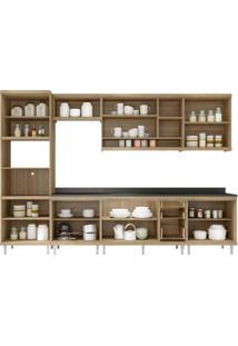 Cozinha Compacta Multimóveis Sicília 5835.132.815.132.610 Argila Se