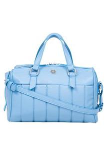 Bolsa Feminina Ana Hickmann Baú Matelassê Soft Estilosa Azul