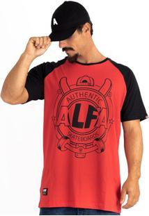 Camiseta Alfa Raglan Brasao - Masculino