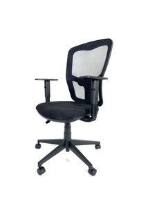 Cadeira Office Gerente Byartdesign Turim Preto