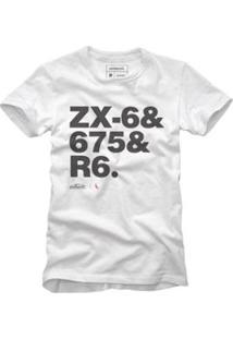 Camiseta Reserva Motos Masculino - Masculino-Branco