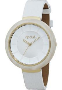 Relógio De Pulso Ripcurl Mist Acetate - Feminino-Branco+Dourado