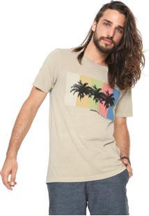 Camiseta Redley Silk Bege