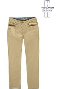 Calça Básica Skinny Masculina Em Tecido De Algodão Hering