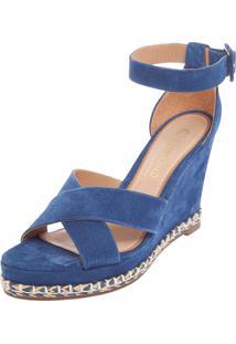 Sandália Dumond Tressê Azul