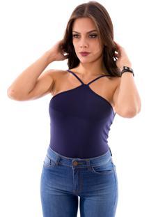 Body Up Side Wear Cavado Azul Marinho