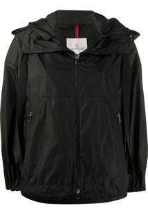 Moncler Lightweight Hooded Jacket - Preto