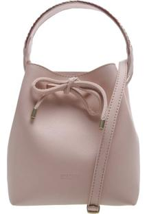 Bucket Marabella Alça Trança Blush | Anacapri