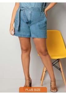 Shorts Azul Clochard Denim