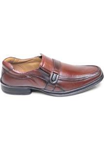 Sapato Masculino Social Em Couro Rafarillo Marrom