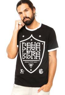Camiseta Cavalera Original Preto