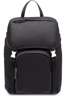 Prada Nylon Backpack - Preto