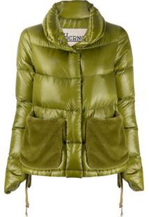 Herno Short Puffer Jacket - Verde
