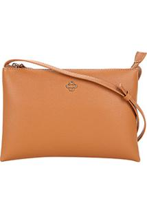 Bolsa Capodarte Mini Bag Soft New Feminina - Feminino-Caramelo