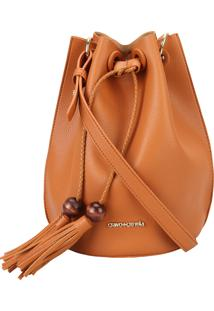 Bolsa Saco Puxador Madeira Brown Cravo E Canela Plcv19115
