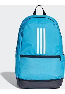 Mochila Adidas Classic - Unissex-Azul+Cinza