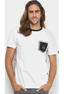 Camiseta Quiksilver Especial Floral Lateral Masculina - Masculino