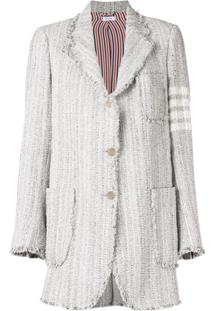 Thom Browne Jaqueta De Tweed - Cinza