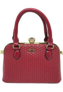 Bolsa Casual Sys Fashion 8534 Feminina - Feminino-Vermelho