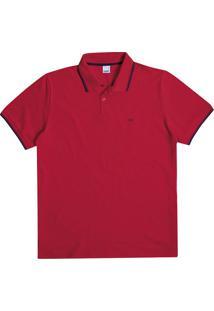 Camisa Polo Tradicional Piquê