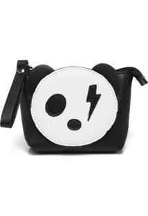 Nécessaire Santa Lolla Panda Preto/Branco