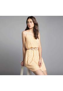 Vestido Com Alças Estampa Sun - Lez A Lez