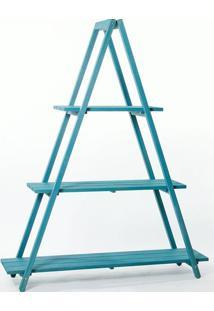 Estante Escada Troia Azul 150Cm - 61413 - Sun House