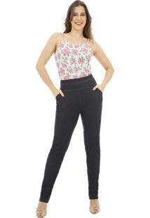 Calã§A Cotton Jeans Catwalk Plus Size Cw19-5415Co Azul - Azul - Feminino - Dafiti