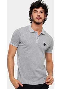 Camisa Polo Rg 518 Piquet Mini Print Masculina - Masculino