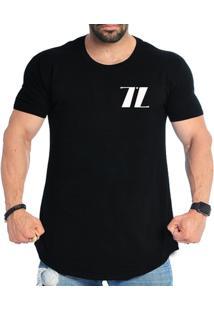 Camiseta Long Line Over Size Triztam - Masculino