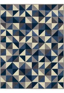 Tapete Triply A Retangular Jacquard (150X200) Granito