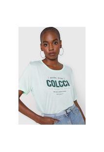 Camiseta Colcci Favorite Choice Verde