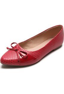 Sapatilha Dafiti Shoes Cobra Vermelha