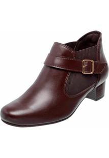 Bota Cano Cruto Dr Shoes Marrom