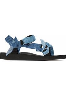 Arizona Love Sandália Jeans Trekky - Azul