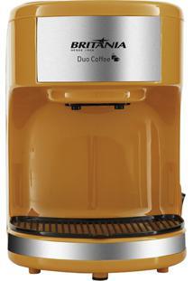 Cafeteira Duo Coffee Laranja Britânia 220V