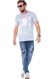 Camiseta Wolke Gola Careca Lavada Be Real