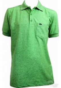 Camisa Pau A Pique Polo - Masculino-Verde