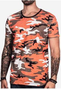 Camiseta Militar Laranja 101752