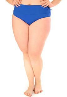 Calcinha Hot Pants Plus Size Acqua Rosa Azul