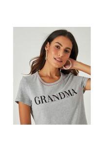 Blusa Grandma Meia Malha Malwee
